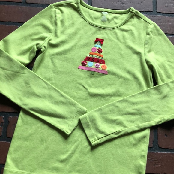 Justice Other - Justice girls long sleeve shirt Christmas 12